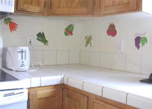 Kitchen backsplash tile design your own kitchen installation - Design your own backsplash ...